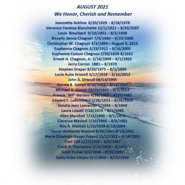 August Memorials