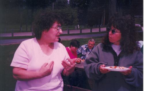 Theresa and Barbara
