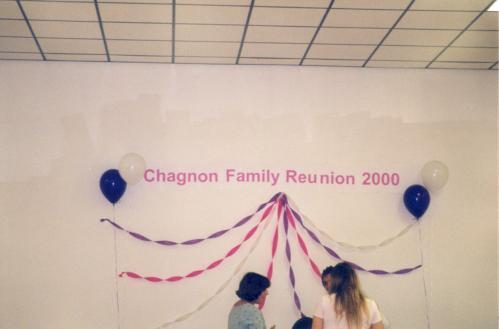 Chagnon Reunion 2000