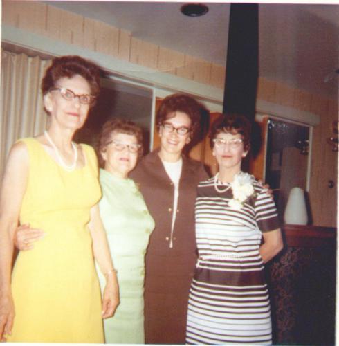 Edith,Eva, Lorraine, Irene